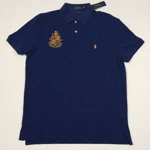 Polo Ralph Lauren Embroidered Crest Polo